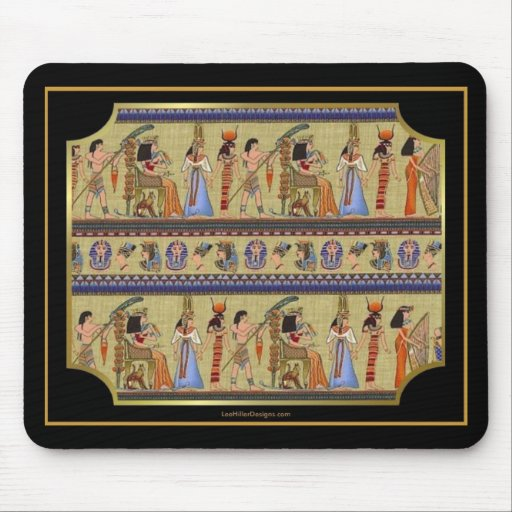 Egyptian Hieroglyphics Series II Apparel Gifts Mouse Pad