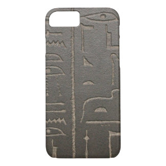Egyptian Hieroglyphs Ancient Egypt Writing Symbols iPhone 8/7 Case