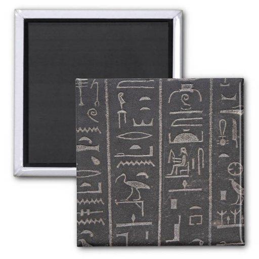 Egyptian Hieroglyphs Magnet