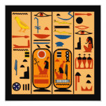 Egyptian Hieroglyphs Your Party Details Invitation