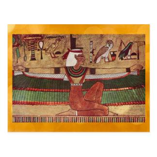 Egyptian Isis postcard
