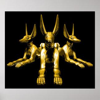 Egyptian Jackals Print