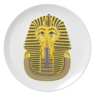 Egyptian King Pharaoh Plate