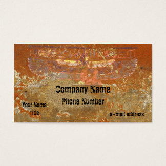 Egyptian Maat Hieroglyph Business Card