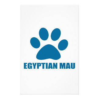 EGYPTIAN MAU CAT DESIGNS STATIONERY