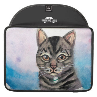 Egyptian Mau Cat Macbook Pro Laptop Sleeve
