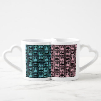 Egyptian Motif Love Mugs