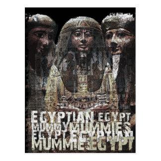 Egyptian Mummies Post Card