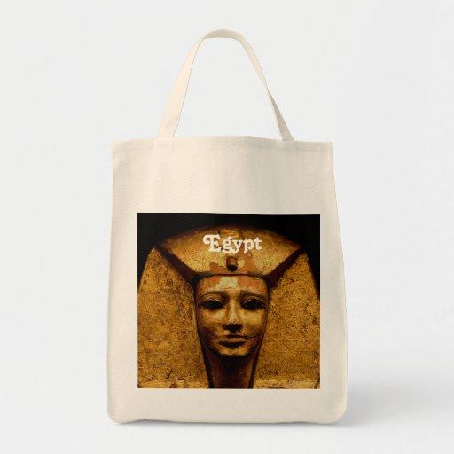 Egyptian Mummy Canvas Bag