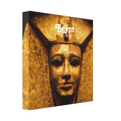 Egyptian Mummy Gallery Wrapped Canvas
