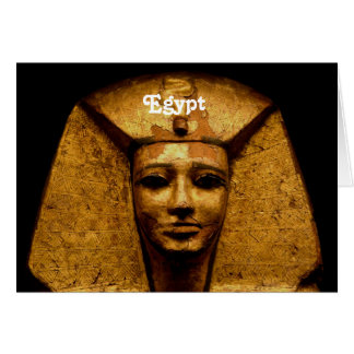Egyptian Mummy Greeting Card