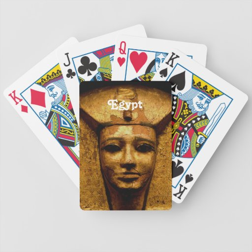 Egyptian Mummy Bicycle Card Decks