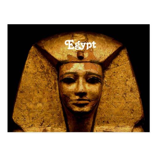 Egyptian Mummy Post Card