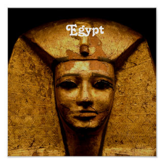 Egyptian Mummy Print