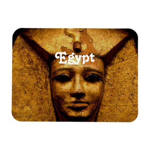 Egyptian Mummy Rectangular Magnets