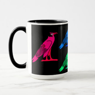 Egyptian Night Bird Coffee Mug