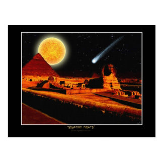 """EGYPTIAN NIGHTS"" Historic Fantasy Postcard"