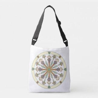 Egyptian Nouveau Lotus Mandala Bag