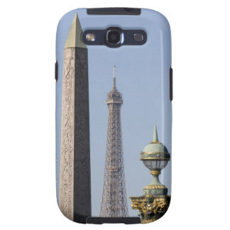 Egyptian Obelisk and lamp in Place de la Samsung Galaxy SIII Cases