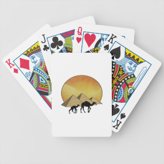 Egyptian Passing Bicycle Playing Cards