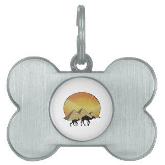Egyptian Passing Pet ID Tag