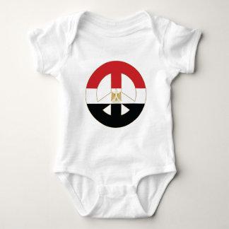Egyptian Peace Symbol Baby Bodysuit