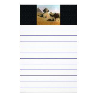 Egyptian Personalized Stationery