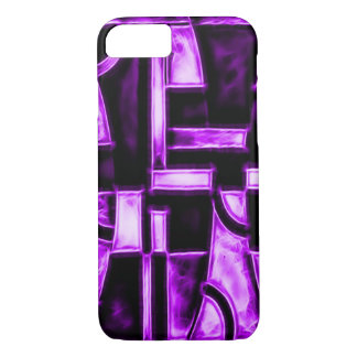 Egyptian Purple Temple Fractal iPhone 7 Case