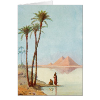 Egyptian Pyramids Congratulations Egypt Card