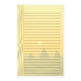 Egyptian Pyramids Stationery Paper