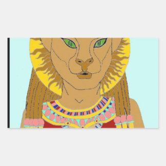 Egyptian Rectangular Sticker