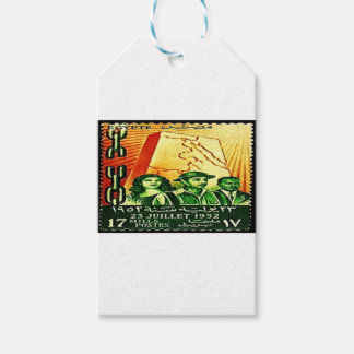 Egyptian Revolution Stamp Gift Tags