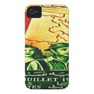 Egyptian Revolution Stamp iPhone 4 Cover