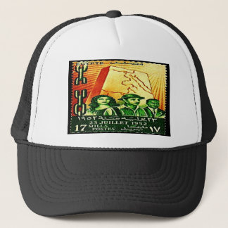 Egyptian Revolution Stamp Trucker Hat