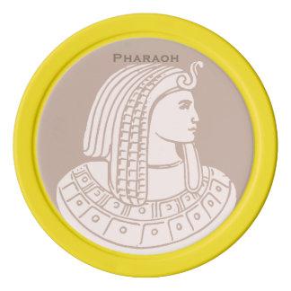 Egyptian Rose Pharaoh Pink Egypt Golf Ball Marker Set Of Poker Chips