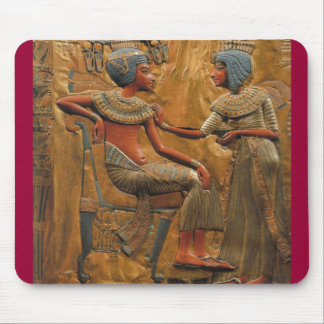 egyptian royality-scene mouse pad