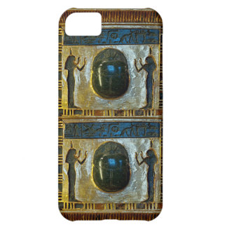 Egyptian Scarab Amulet with Isis iPhone 5C Case