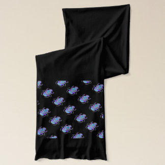 Egyptian scarab beetle design scarf