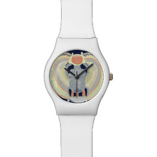 Egyptian Scarab Design Watch