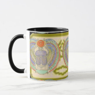 Egyptian Scarab with Kephri Cartouche Mug