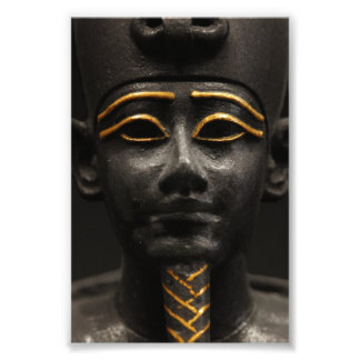 Egyptian Statue of Osiris Photo Print