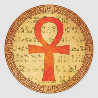 Egyptian Sticker - Ankh Cross