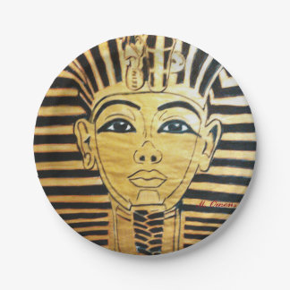 Egyptian Style Paper Plates