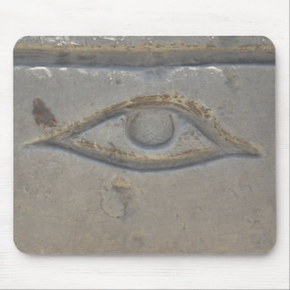 Egyptian Symbol - Eye of Horus Mousepads