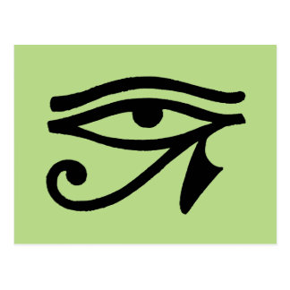 Egyptian Symbol: Wedjat Postcard