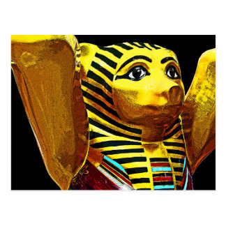 Egyptian Teddy Bear Postcard