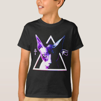 Egyptian Triangle Cat T-Shirt