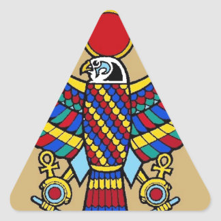Egyptian Triangle Sticker