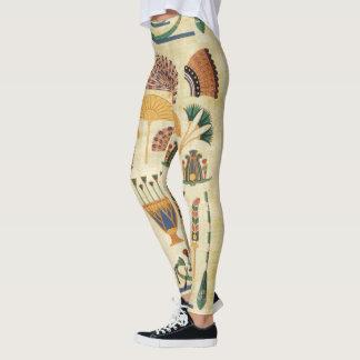 Egyptian Tribal Designs Leggings