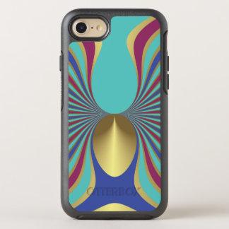 Egyptian Turquoise Iris Sword Lily Art Nouveau OtterBox Symmetry iPhone 7 Case